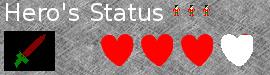 Hero's Status