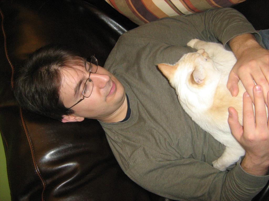 Diego cuddle time