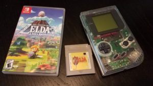 Links Awakening - Switch and Game Boy