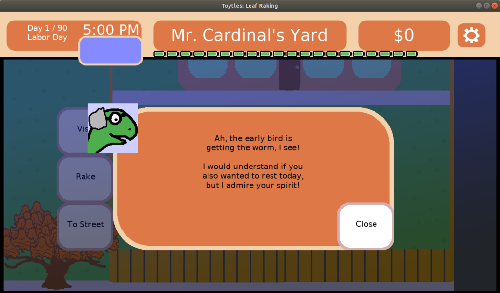 Announcing New Holiday Dialogue in Toytles: Leaf Raking v1.4.4