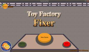 Toy Factory Fixer main menu