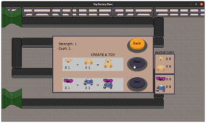 Toy Factory Fixer - Updated worker menu