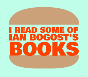 I read some of Ian Bogost's Books (words in buns)