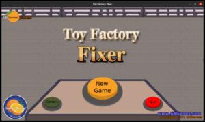 Toy Factory Fixer - enhanced main menu