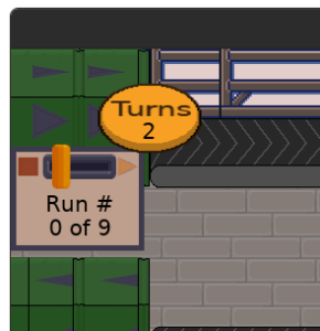 Toy Factory Fixer - production run indicator