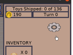 Toy Factory Fixer - new gear icon