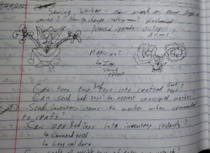 Toy Factory Fixer - notes for designing the third worker